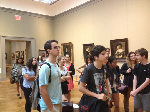 Art History college courses for high school students nyc
